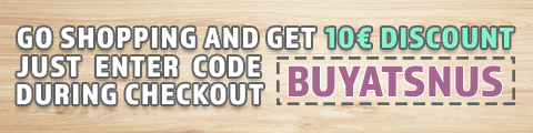 10€ discount on your first order on BuySnus.at