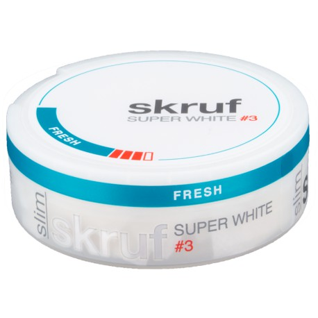 Skruf Super White Slim Fresh No.3 (Strong)