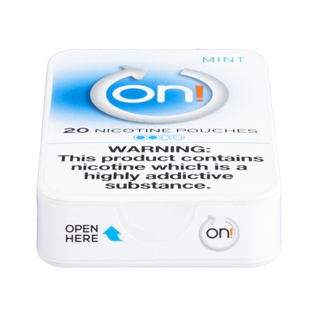 on! Mint 2 Nicotine Pouches