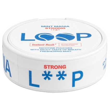 LOOP Mint Mania Strong All White