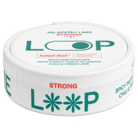 LOOP Jalapeno Lime Strong All White